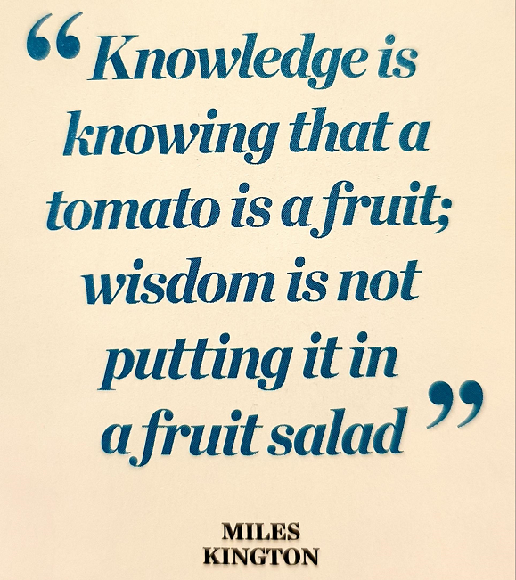 Is knowledge power?